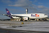 N671FE FedEx Express A300F4-605R in KCLE (GeorgeM757) Tags: n671fe a300f4605r fedexexpress aircraft alltypesoftransport aviation airport airbus airfreight freighter kcle georgem757 canon