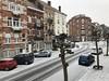 Ma rue sous une fine couche de neige (Flikkersteph -5,000,000 views ,thank you!) Tags: winter snow ice street city parking cars coldtemperature