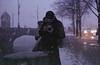 adam // snowstorm hangover (Aspa Tz) Tags: winter prague portrait people snow street film analogue zenit fujicolor atmosphere snowstorm city czech republic travel