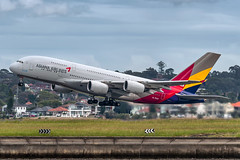 HL7640 Asiana Airlines Airbus A380-841 16R Sydney Airport SYD/YSSY 10/3/2018 (TonyJ86) Tags: hl7640 asianaairlines ozaar airbus a380 a388 a380841 a380800 superjumbo doubledeck widebody quadjet aircraft aviation airliner airplane aeroplane plane passenger jet jetliner jetaircraft jetplane passengerplane passengerjet international departure takeoff rotate flight fly airport syd yssy sydneyairport sydneykingsfordsmith sydney nsw newsouthwales australia planespotting avporn aviationporn avgeek travel nikon d750 nikond750 vehicle outdoor aviationphotography tamron tamronsp150600mmf563divcusdg2