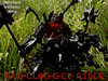 Tar-Clogged Rider (1) (Wertman 8) Tags: bionicle mocpages lego moc ccbs