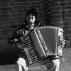 #tlrtuesday no. 58. The Accordion Player. (nickdemarco) Tags: budapest rolleiflex rolleiflex35fplanar twinlensreflex rangefinderchronicles blackwhite