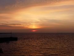 Sunrise I (BrigitteE1) Tags: sunrise heligoland sonnenaufgang inselhelgoland helgoland nordsee northsea island insel