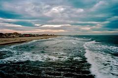 THE SEA (michele.palombi) Tags: tirreno tuscany film 35mm kodak ektar100 sunset analogic