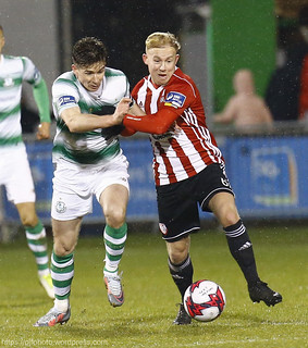 SSE Airtricity League Premier Division, Shamrock Rovers v Derry City; Credit: Peter Fitzpatrick