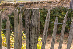 French Fence (WillemijnB) Tags: burgondy bourgogne wooden fence