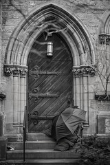 B1004169BW (sswee38823) Tags: umbrella blackwhite blackandwhite bw homeless person sleeping church door outdoor outdoors outside boston bostonma newburyst leicam m10 leicam10 leicacameraagleicam10 noctiluxm50mmf095asph noctiluxm109550mmasph noctilux095 noctilux noc noctiluxm109550asph leicanoctiluxm50mmf095asph 50mm 50 leica50mmf95 095 f95 leica leicacamera photography photograph photo seansweeney seansweeneyphotographer ma massachusetts m newengland city