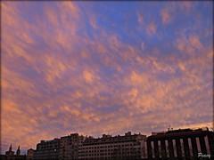 Estucado de tarde (peavy30) Tags: atardecer zaragoza ribera aragon ebro cielo sky
