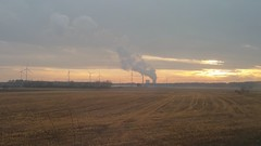 Beauty and the Beast (1elf12) Tags: sonnenuntergang sundown niedersachsen deutschland germany kraftwerk powerstation