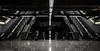 Hormigón, acero, neón II (Arquijcarlos) Tags: 2018 sevilla suburbano andalucía europa aceroinoxidable materialdeconstrucción neón hormigón transporteterrestre transportepublico españa metro
