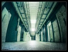 On The Down Low... (LiesBaas) Tags: fisheyelens prison jail urbex verlasseneorte lostplaces gevangenis onthedownlowbyliesbaas