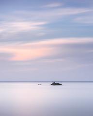 A new day (blondmao) Tags: sunrise srilanta kohlanta klongninbeach minimal rocks noperson longexposure beach ocean dawn andamansea hotel clouds island sky 10stopper indianocean sea thailand krabi