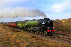 60163 'Tornado' - NYMR - 2018-03-11 (BillyGoat75) Tags: lner a1 peppercornclass 60163 tornado steamengine locomotive moorgates northyorkshiremoorsrailway nymr heritagerailway