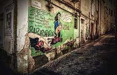 Orgosolo, Sardinia... town of tons of murals (Ula P ( takes a break )) Tags: orgosolo sardinia sardegna murals colorful town sony old