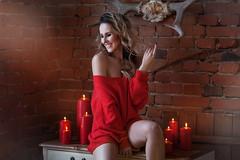 Фотосессия девушки в лофтовой студии с кирпичными стенами и окном (KseniaBur) Tags: winner фотодевушки фотосесссиядевушки фотографиивстудии фотографновосибирск