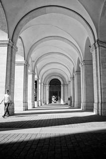 palazzo barberini arches
