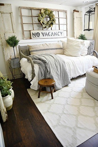 Furniture  - Bedrooms : Farmhouse Guest Bedroom Makeover | Liz Marie | Bloglovin'