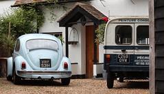 VRP 531H & C268 OVW (Nivek.Old.Gold) Tags: 1970 volkswagen beetle 1300 de luxe 1985 citroen acadiane van 602cc décorateur