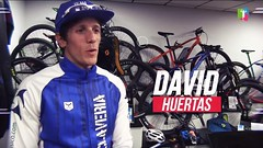 David Huertas team clavería temporada 2018