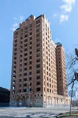 The Historic Lee Plaza, Detroit, Michigan (adamkmyers) Tags: architecture artdeco abandoned detroit motorcity