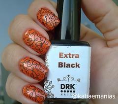 Carimbada (katiaemanias) Tags: drk drknails carimbada stampingnailart stampingnails stamping nails nailpolish nail nailart unhas unha esmalteparacarimbo