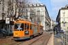 Trasporti puliti (trainspotter64) Tags: strasenbahn tramway tram tranvia tramvaj tramwaje streetcar turin torino gtt italien gt6 tw2800 piemont piemonte italia