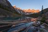 Sunrise at Lake Moraine (Ken Krach Photography) Tags: lakemoraine