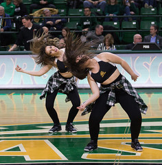 142A6115 (ROliver8236) Tags: gmu george mason university nit ncaa basketball cheerleader dance