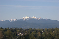 FIRST SNOW ON THE MOUNTAINTOPS.  FRASER VALLEY,  B.C. (vermillion$baby) Tags: fishtrapcreek abbotsford cloud walk wetland snow mountain peak bc landscape fraservalley winter canada beautifulbc peaks mountains beautifulpacificnorthwest