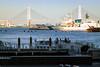 Yokohama Bay Bridge (enebisu) Tags: 横浜 横浜ベイブリッジ yokohamabaybridge みなとみらい シーバス 船 sigma sdquattroh art013 24105f4 foveon