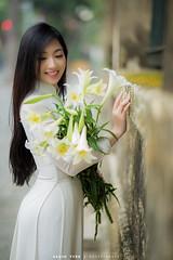 IMG_9653 (Aaron Studio) Tags: hoa loa ken ao dai phan dinh phung cau long bien ga