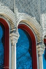 Influence mauresque (www.sophiethibault.ca) Tags: 2018 ville buildings canada urbain québec mars montréal architecture fenêtre arche mur drpenfield