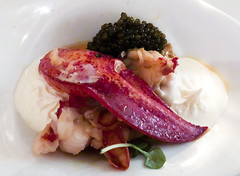 Lobster Flan with Ossetra Caviar at Marcel's (Bill in DC) Tags: food diningf washingtondc 2018 dining restaurants marcels