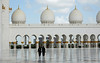 Shiek Zayed Grand Mosque (geneward2) Tags: shiek zayed grand mosque abu dhabi uae white islam worship religion reflection black