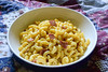 Mac & Cheese with Soy Bacon (Vegan) (Vegan Butterfly) Tags: vegetarian vegan food yummy tasty meal delicious mac cheese macaroni daiya cheddar shreds dairyfree yves soy bacon veggie supper bowl