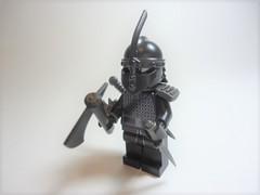 """Cale Blackwind (Nick """"Nightstalker"""") Tags: afol brickwarriors lego brickforge saberscorpion brickarms"""