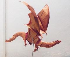 Dragon (Lê Huỳnh Đức) Tags: papercraft paper origamidragon dragon origami