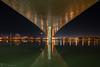 El pont de la unió (E.Domènech) Tags: a7rii laowa12f28 laowa arquitectura nocturna lopassador longexposure largaexposición deltadelebre