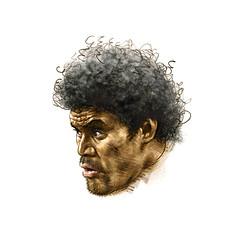Vunibaka portrait (jasoux) Tags: art artwork portrait drawing illustration sketch marikavunibaka vunibaka rugby crusaders crusadersrugby nzrugby