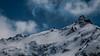 Blue Spring Peak (Frédéric Fossard) Tags: mountain landscape snow sky mountainside snowcapped snowcovered cimes crêtes arêtes sommet picdemontagne mountainrange mountainridge alpes vanoise savoie horspiste aiguillerocheuse nature sauvage altitude clouds nuages bleu