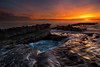 Woods Cove Seascape (RyanLunaPhotography) Tags: california fuji fujifilm ocean orangecounty socal southerncalifornia woodscove xt2 beach landscape seascape sunset