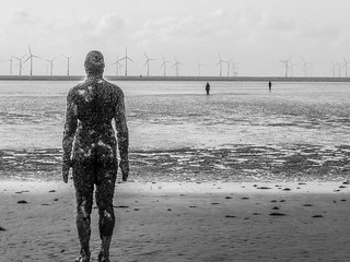 Anthony Gormley's Another Place II