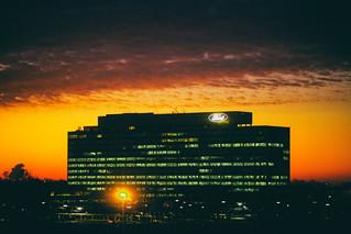 Sunrise Over Ford Motor Company