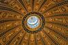 Dome from Basilica (Mariannevanderwesten) Tags: dome koepel baseliek basilica nikon oudenbosch architectuur