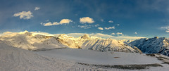 Bella Vista III (Petr Horak) Tags: landscape winter nature mountains italy outdoor panorama snow morning slope fuji sky x100f clouds europe cloudy alps