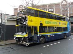 AV 433 Townsend Street 06/03/18 (Csalem's Lot) Tags: av433 dublin dublinbus bus alx400 av oos townsendstreet volvo