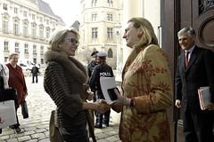 Außenministerin Kneissl trifft Amtskollegin vonLiechtenstein Aurelia Frick