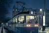 Home Time (Edd Noble) Tags: bokeh bokehpano brenizermethod bokehpanorama ice microsoftice snow tram panorama stitch sonya7 sonyfe85mmf18
