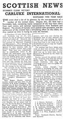 Carluke International Cycle Race, 1948. (Paris-Roubaix) Tags: carluke interantional bicycle road race vintage racing alex hendry glasgow wheelers john storrie glenmarnock cycling club 1948 scotland robert dykes record newspaper