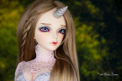 Unicorn horn SD MSD (AnnaZu) Tags: unicorn horn msd sd minifee summer event head 2017 holographic holo polymer clay magnetic bjd accessories abjd balljointed